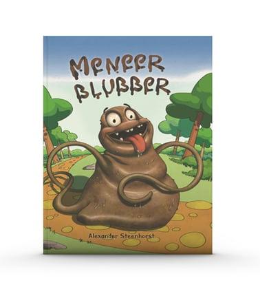 Meneer blubber mock up