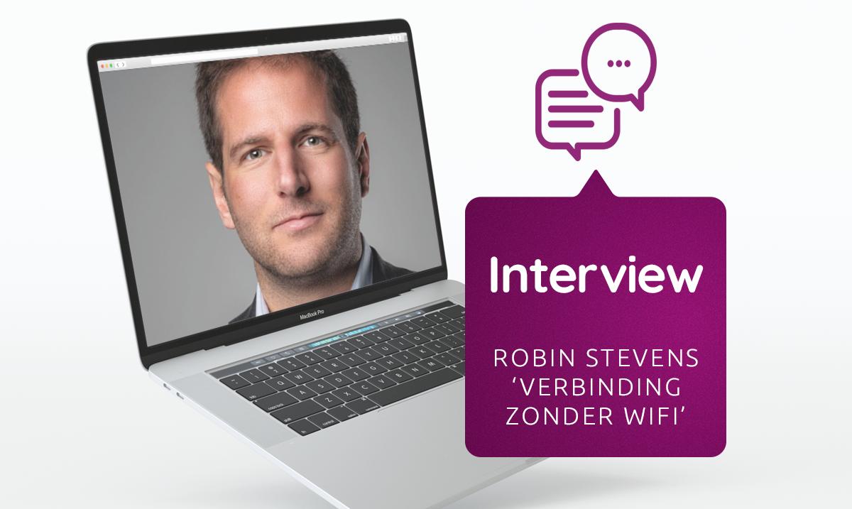 Interview met Robin Stevens, auteur van Verbinding Zonder Wifi