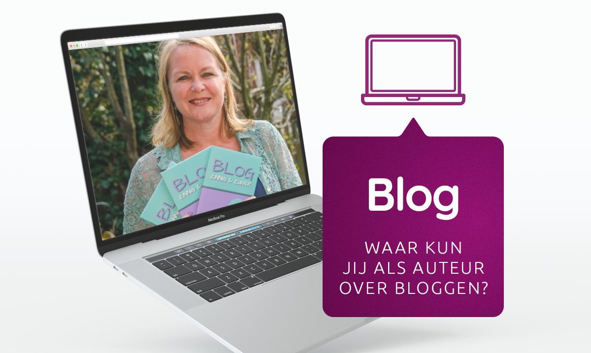 Waar kun jij als auteur over bloggen?
