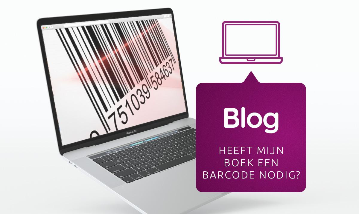 Heeft mijn boek een barcode nodig?